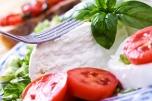 Buffalo Mozzarella with salad
